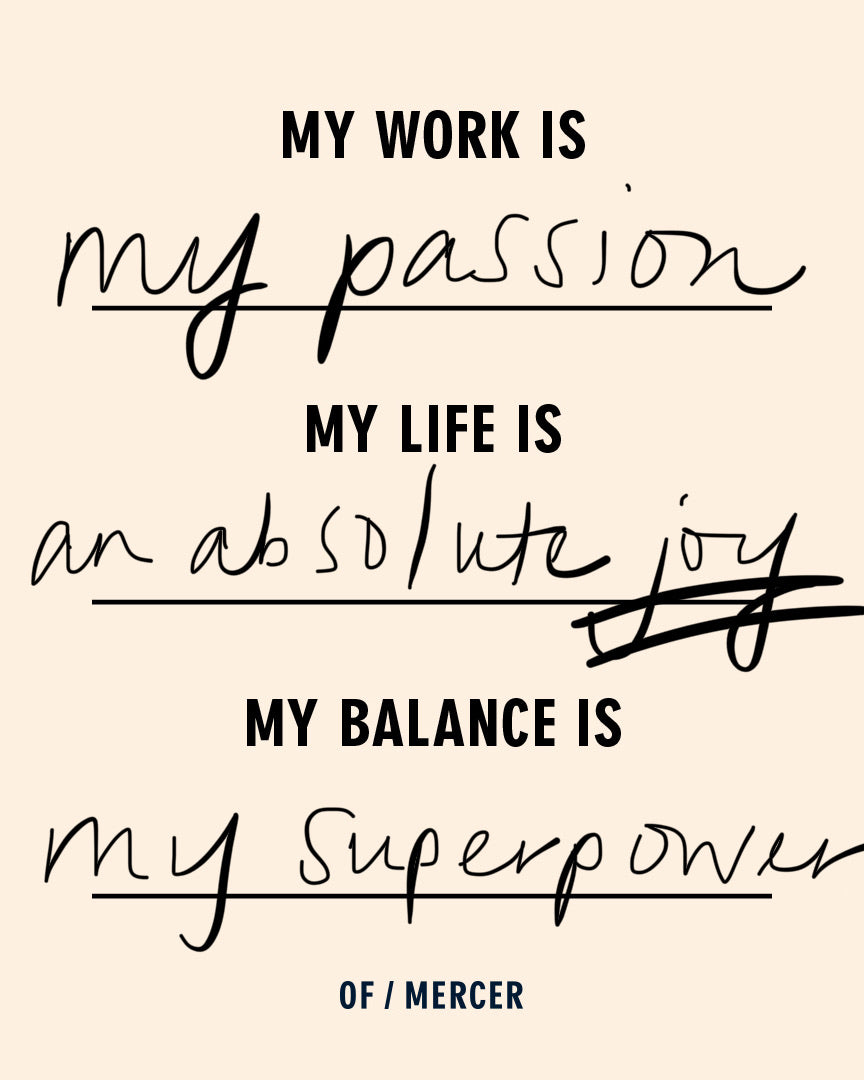 my balance is my superpower