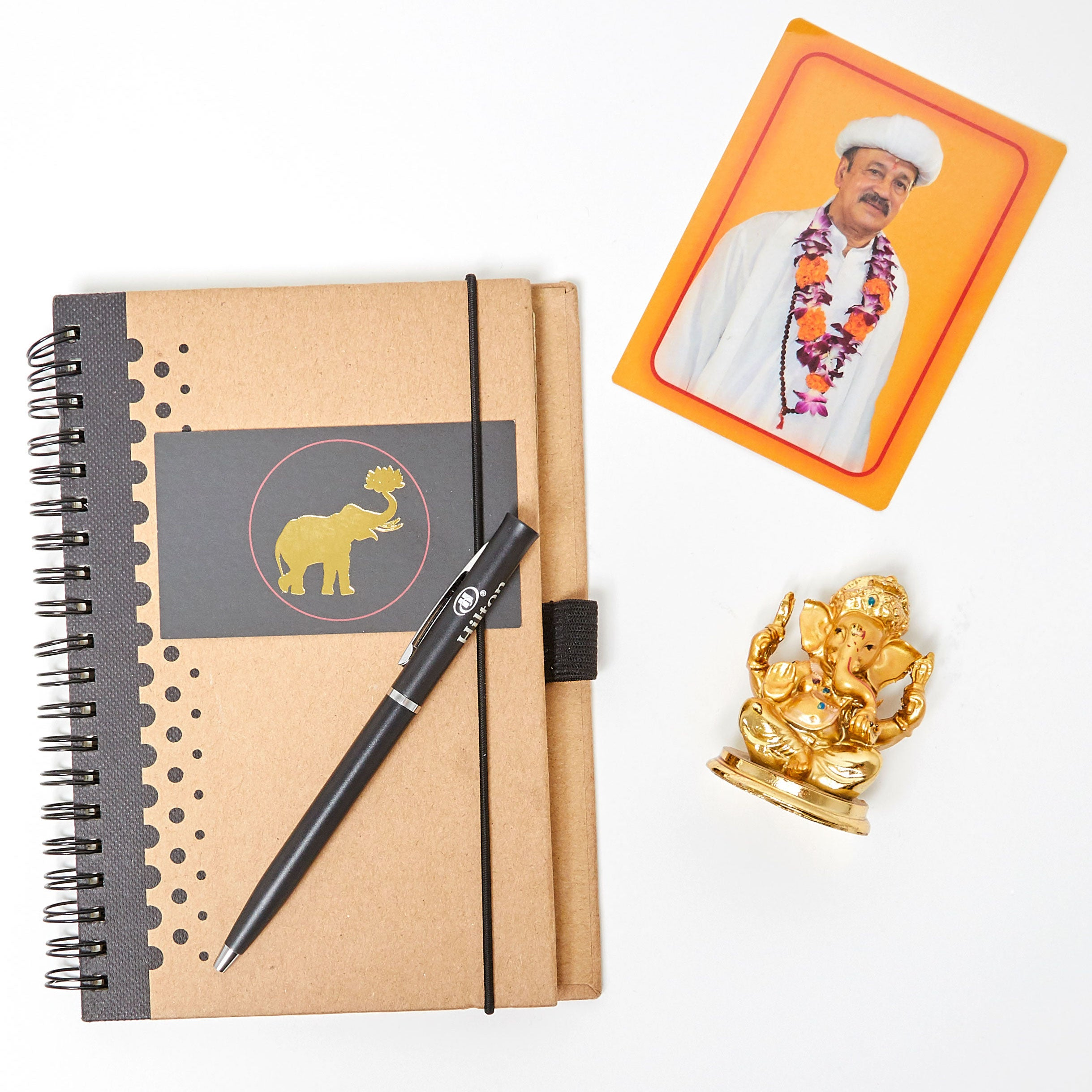 Journal, Ganesha, Picture of Father