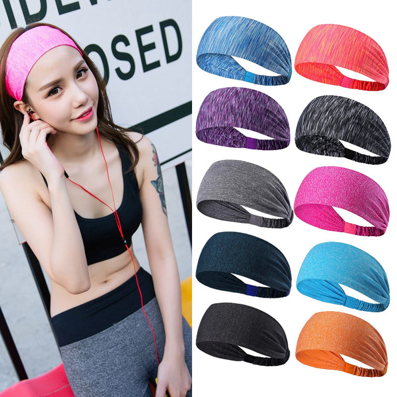 Elastic Hair Fitness Sweatband
