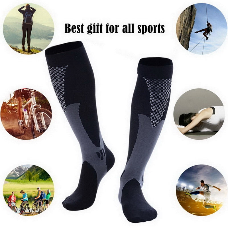 Unisex Leg Compression Socks