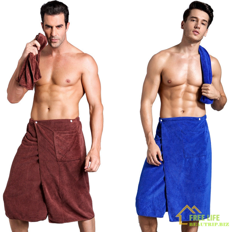 Sport Towel with Pocket