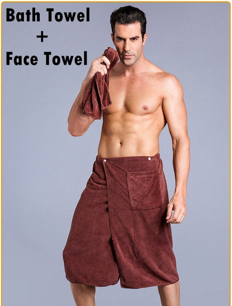 brown-towel-set
