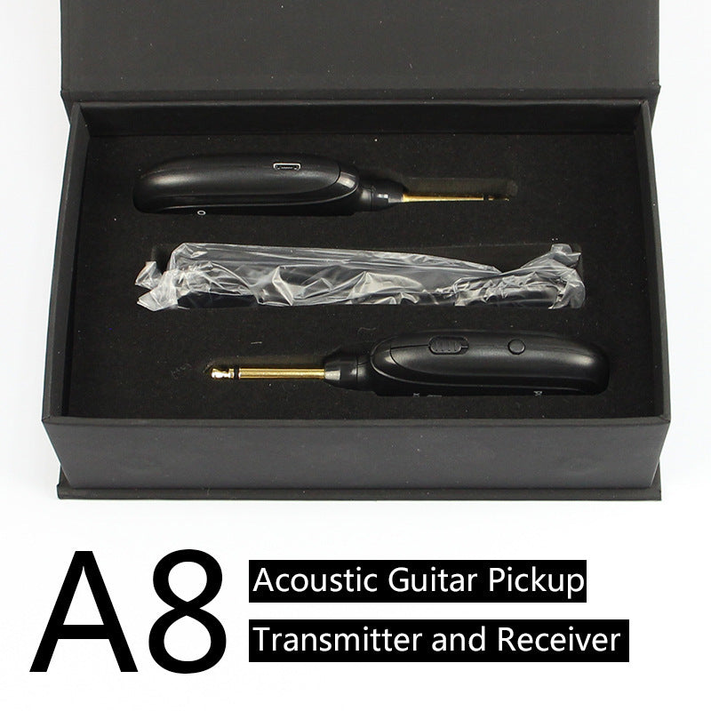 Electric guitar wireless transmitter