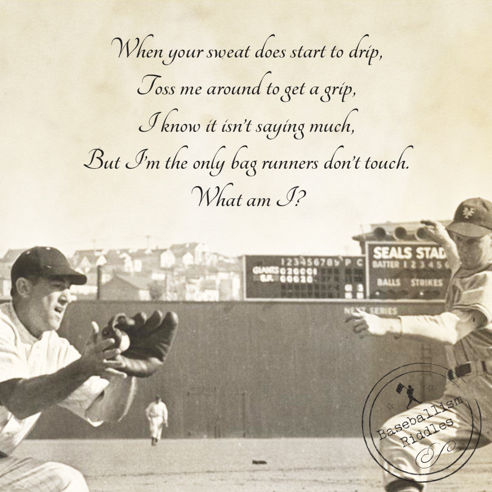 Baseballism Riddle Answer