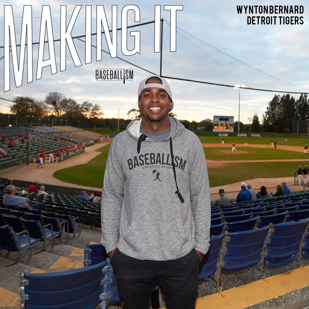 Making It: Wynton Bernard, Detroit Tigers