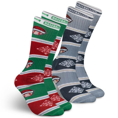 2020 Santa's Game Socks Pack (Pack Includes Two Pairs)