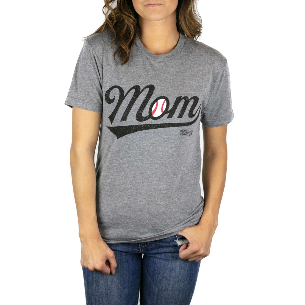 Baseball Mom - Warm-up Tee