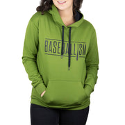Baseballism Classic Women's Hoodie - Battle Green