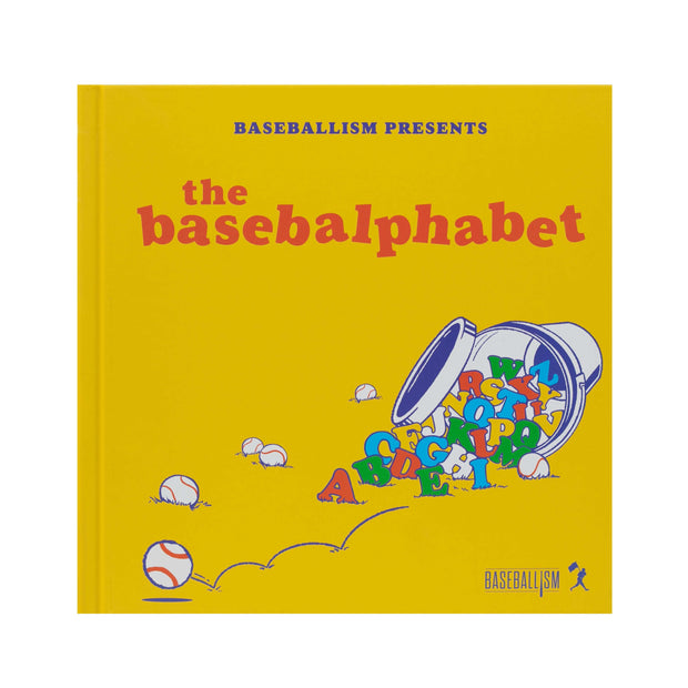 The Basebalphabet - Children's Book