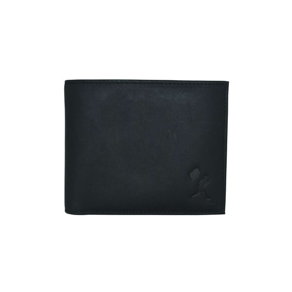 Flag Man Scorebook Bifold Wallet - Black