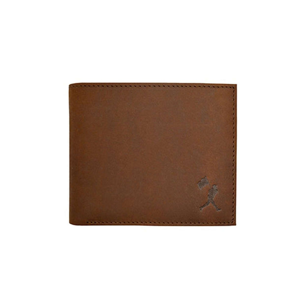 Flag Man Scorebook Bifold Wallet - Glove Leather