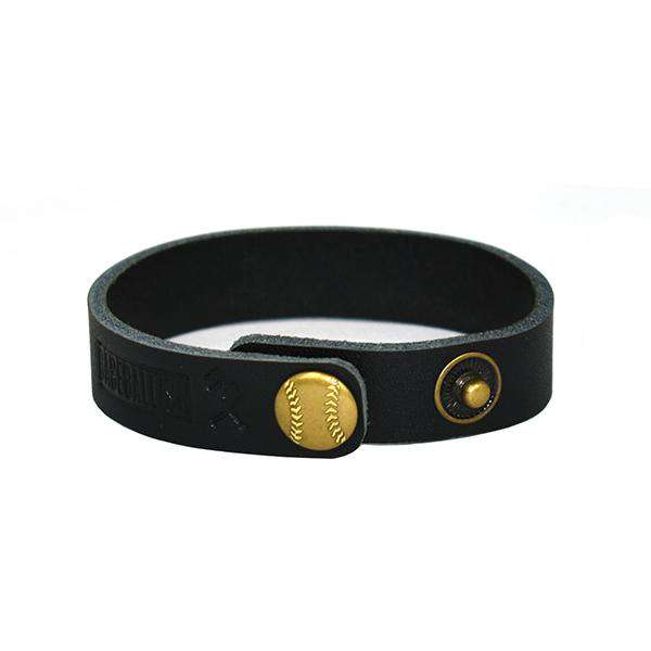 For Love of the Game Single Loop Bracelet - Black