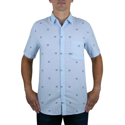 Crossed Bats - Oxford Button Down
