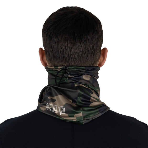 Flag Man Camo Neck Gaiter - Unisex