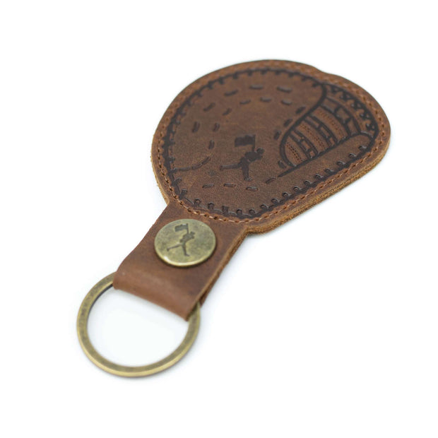 First Baseman's Glove - Glove Leather Key Chain