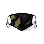 Flag Man (Black/Gold) Fashion Mask - Youth