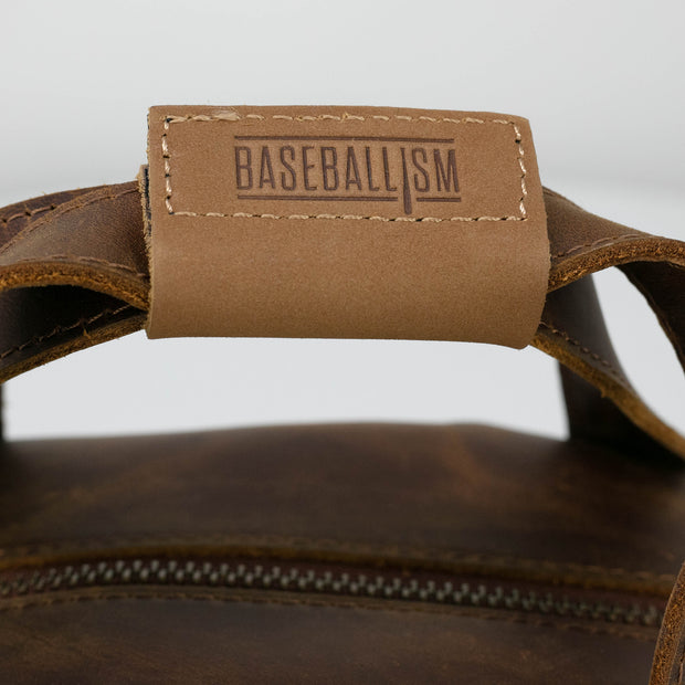 Glove Leather Toiletry Bat Bag