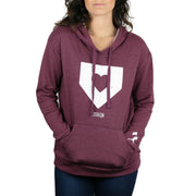 Home is Where the Heart is Women's Hoodie - Cranberry