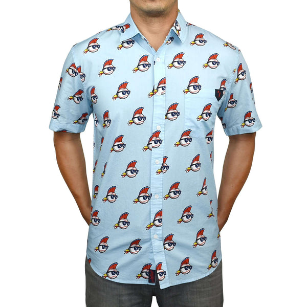 Major League - Brock Button Down