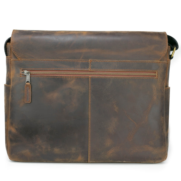 Mathewson Glove Leather Messenger Bag - Pine Tar Brown - PRE-ORDER - SHIP DATE FEBRUARY 1, 2020