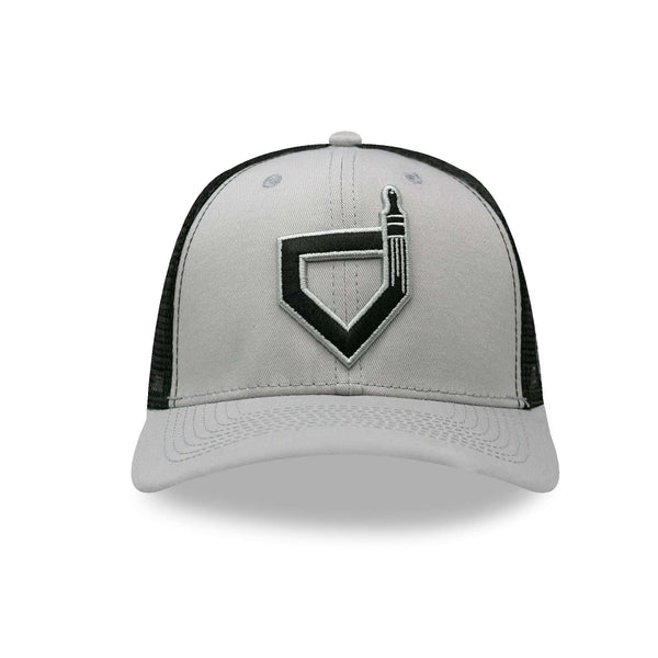 Paint the Black Trucker Cap