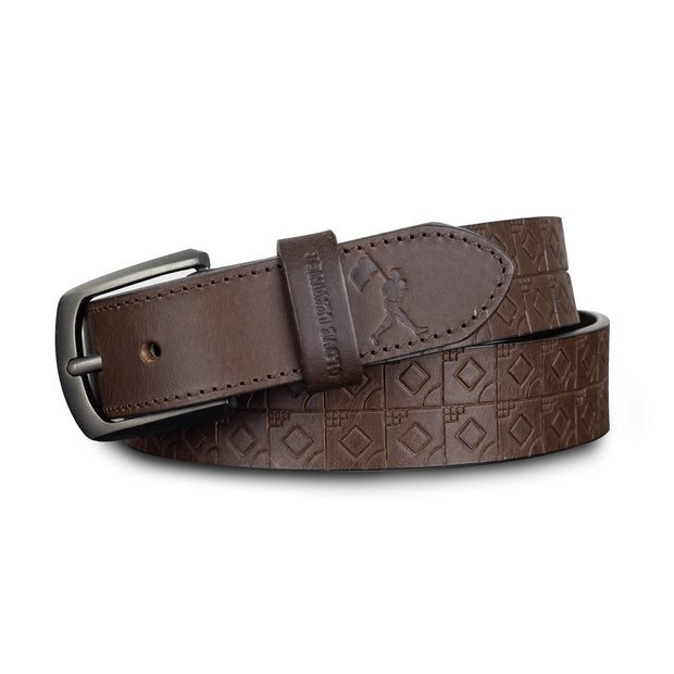 Scorebook Glove Leather Belt - Dark Brown