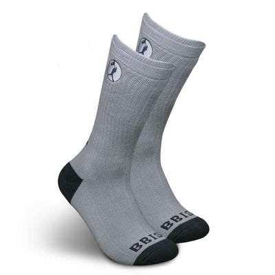 Respect the Game Sock - Grey