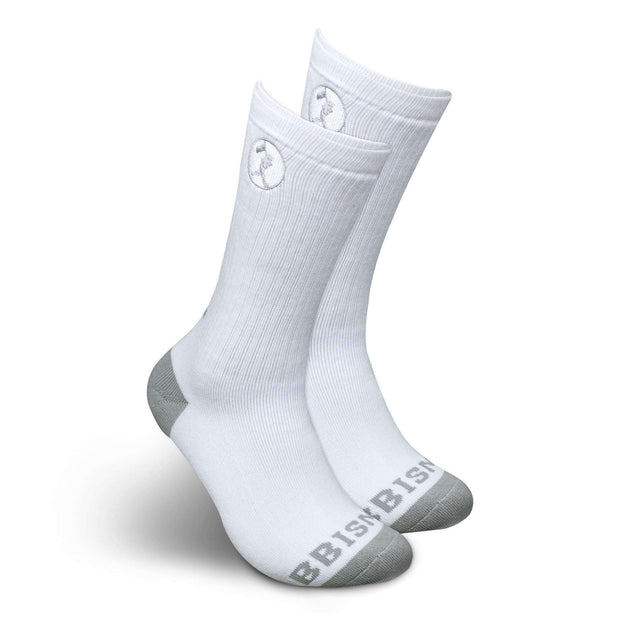 Respect the Game Sock - White
