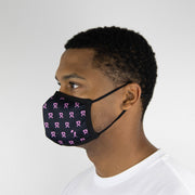 Rally Ribbon Pink Fashion Mask - Unisex