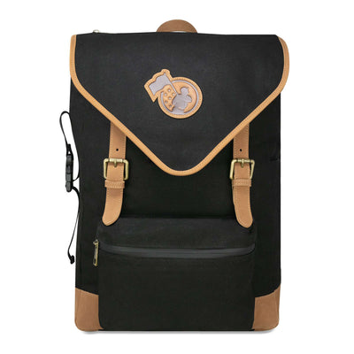 Rowengartner Backpack 2.0 - Glove Leather and Canvas - Black