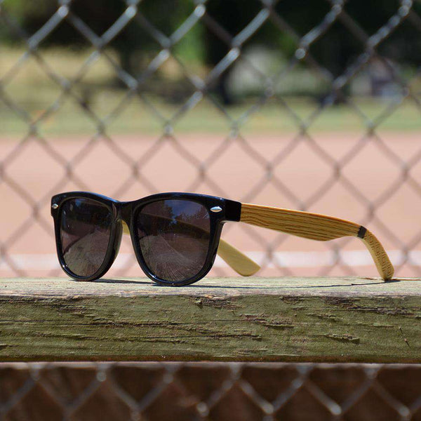 5b9476a30eb Baseball Bat Grain Sunglasses