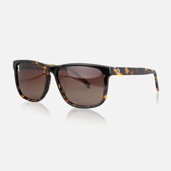 Anderson Polarized Sunglasses - Tortoise Shell