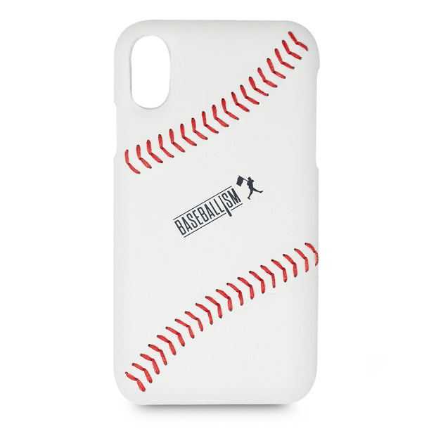 Baseball Leather Phone Case 2.0 (iPhone XR)