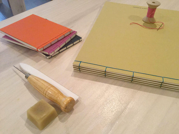 BOOKBINDING: Stab Stitch