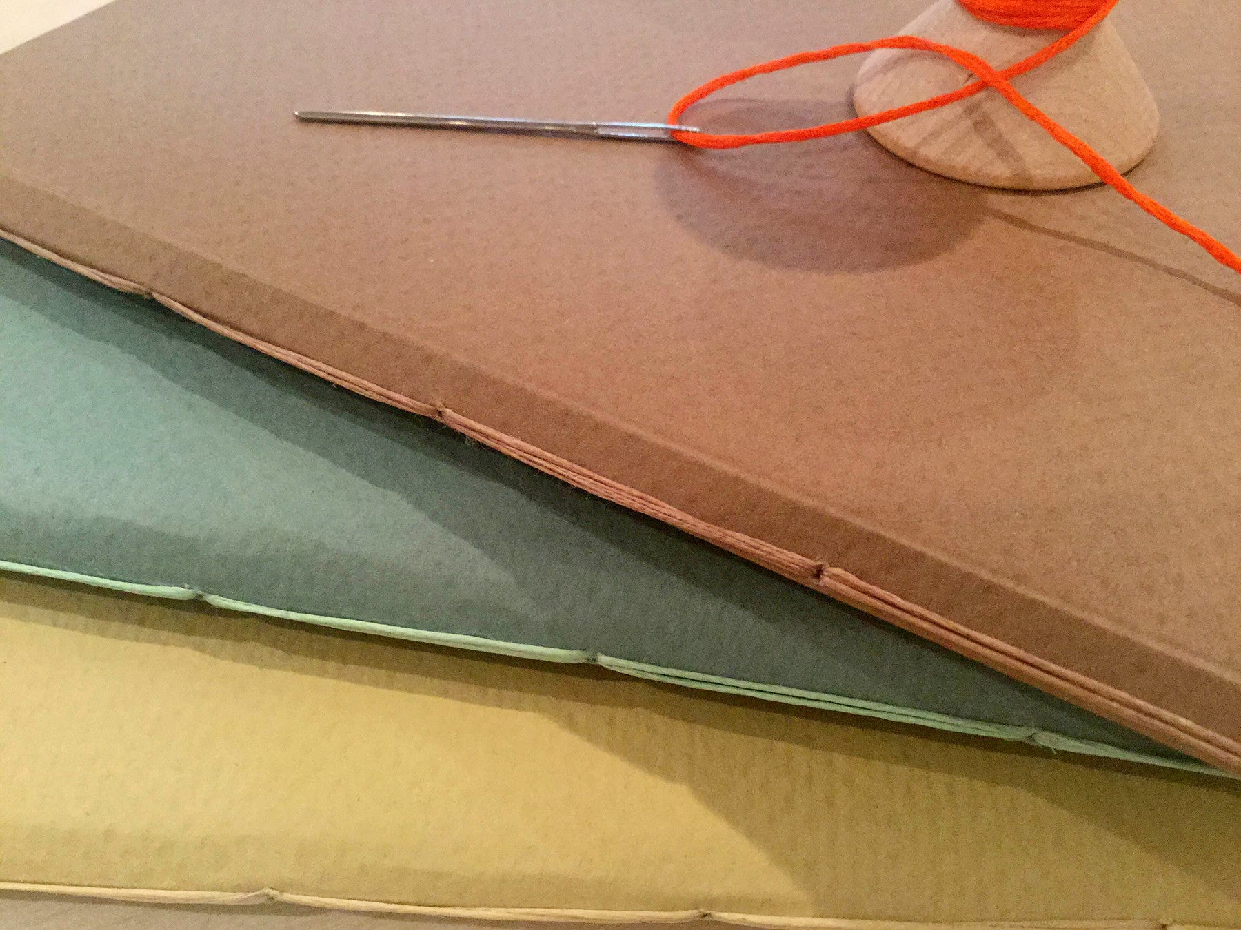 BOOKBINDING: Pamphlet Stitch