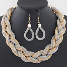 Load image into Gallery viewer, African Mysterious Charming Necklace Earrings Set
