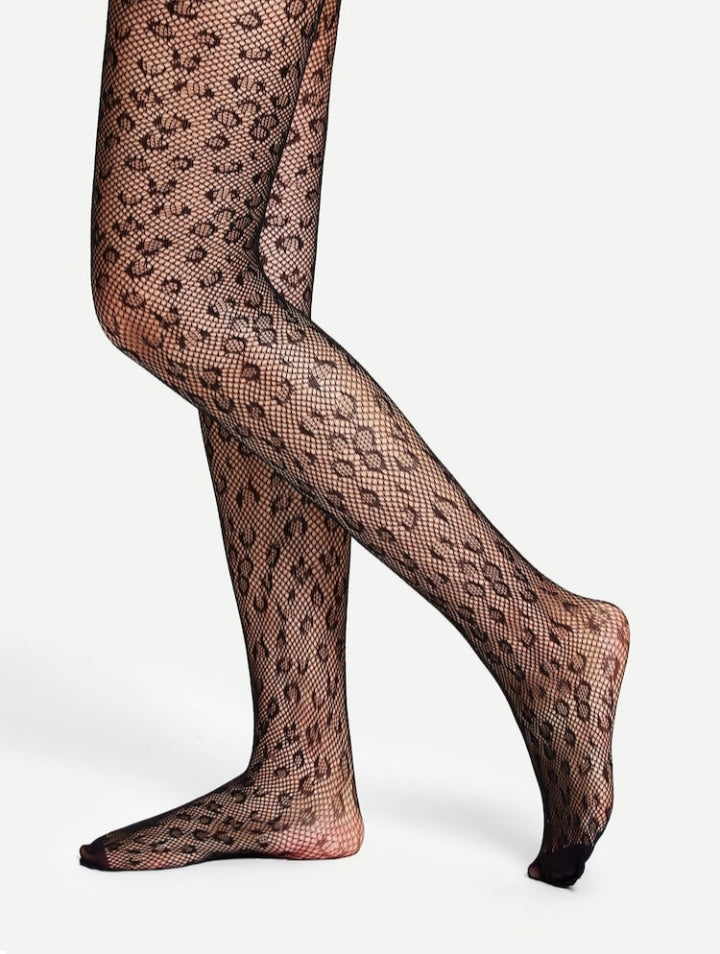 Leopard Stockings