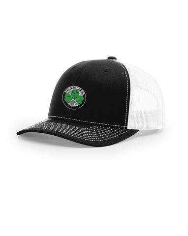 Black / White Cap with Decorative Cap Box