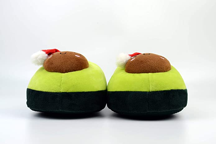 Cute House Slippers for Women (Avocado) - OBM Distribution, Inc.