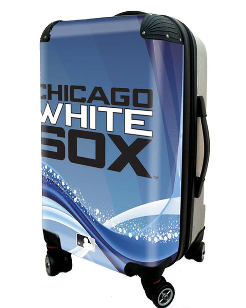 "Chicago White Sox, 21"" Clear Poly Carry-On Luggage by Kaybull #CWS12 - OBM Distribution, Inc."