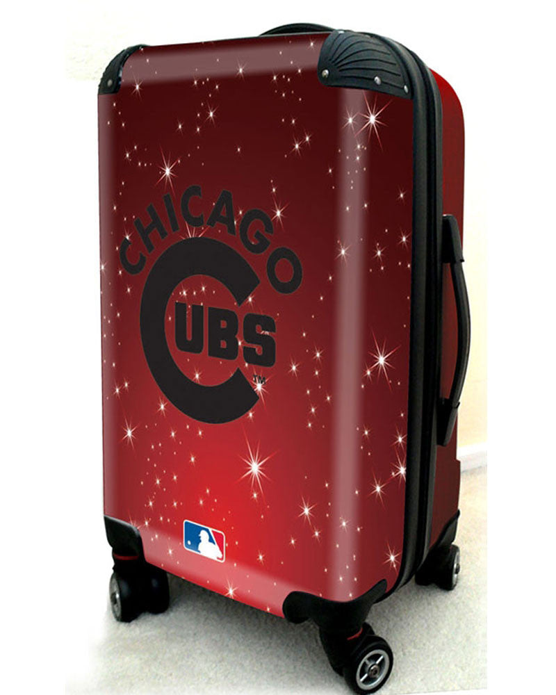 "Chicago Cubs, 21"" Clear Poly Carry-On Luggage by Kaybull #CUB10 - OBM Distribution, Inc."