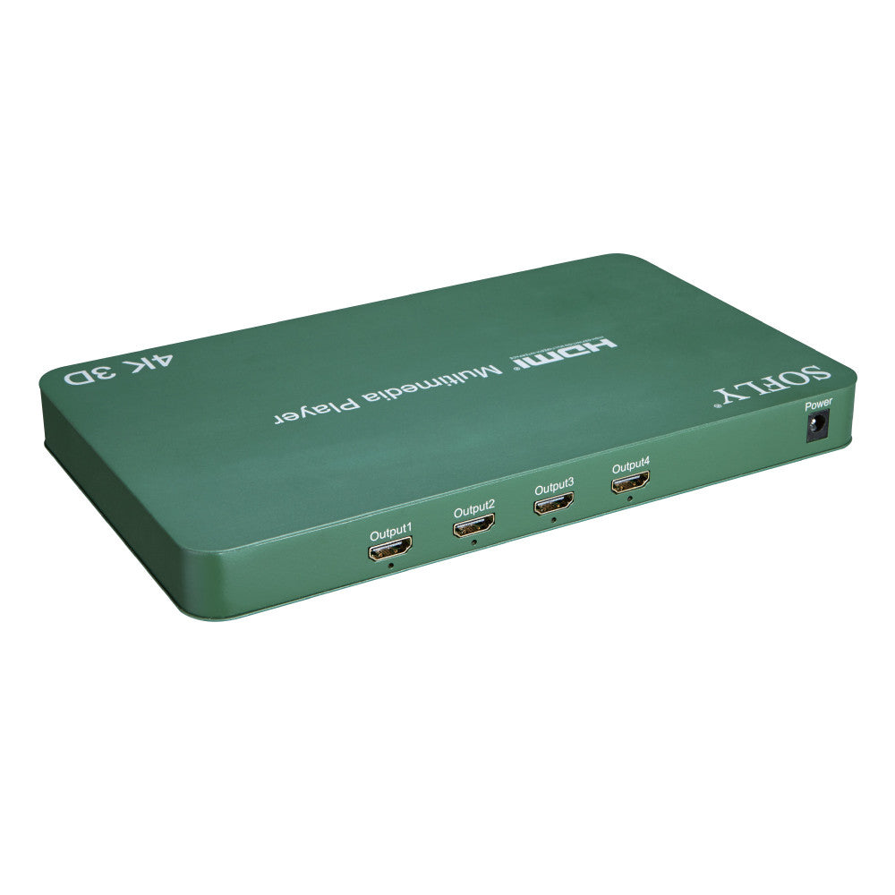 SOFLY HDMP4-V1.4 - 4-way HDMI Media Player - OBM Distribution, Inc.