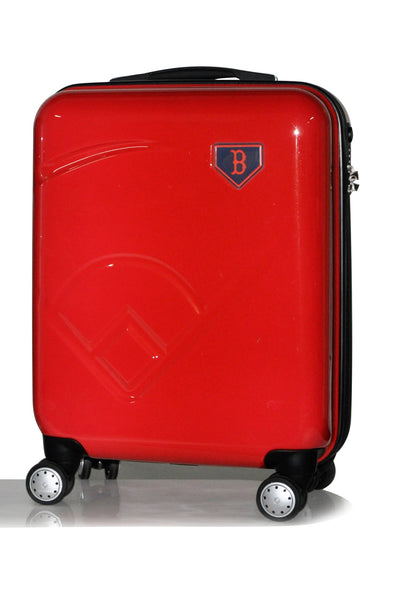 "Boston Red Sox, 19"" Premium Molded Luggage by Kaybull #BOS-19PCF-IFD - OBM Distribution, Inc."