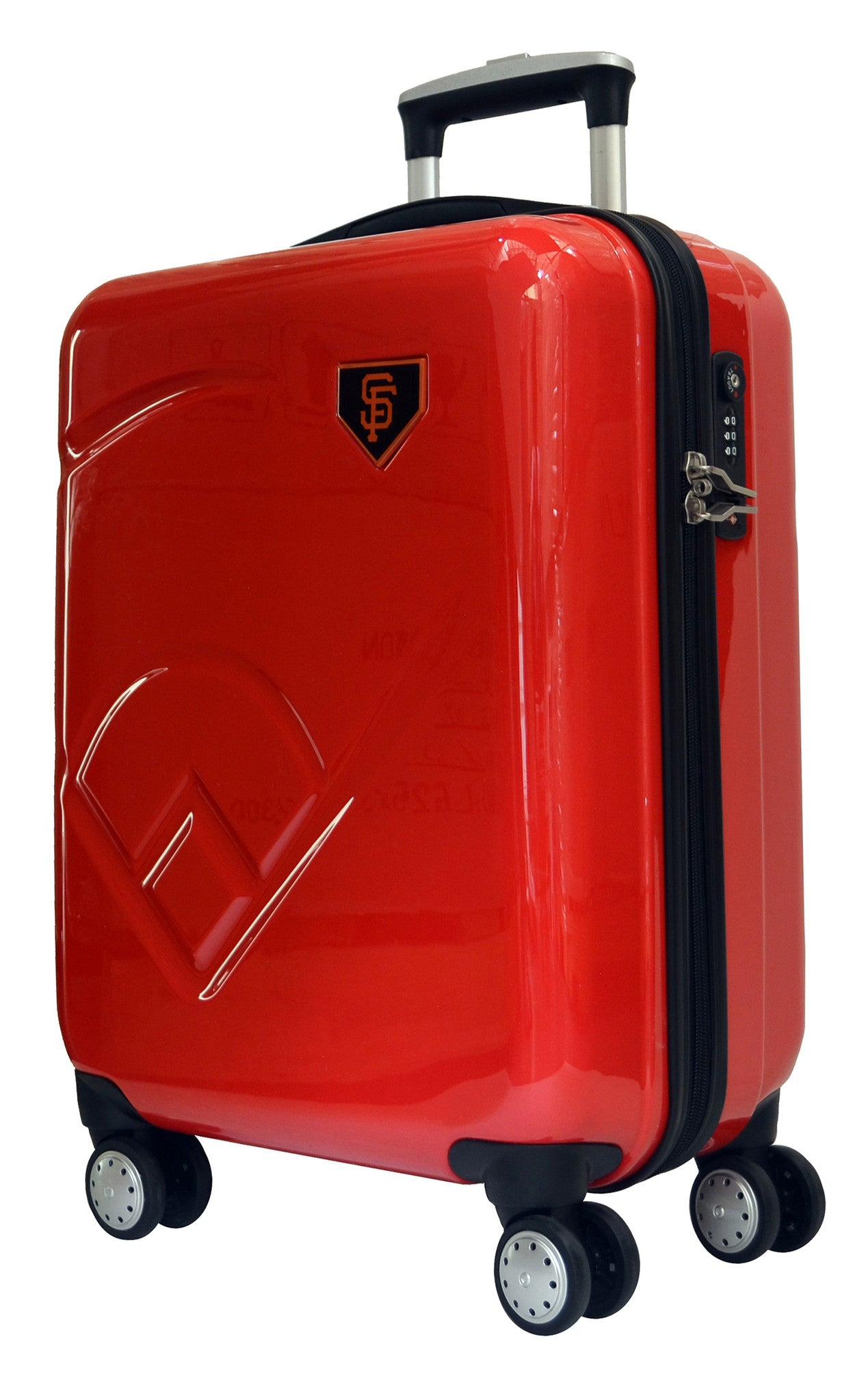 "San Francisco Giants, 19"" Premium Molded Luggage by Kaybull #SF-19PCF-IFD - OBM Distribution, Inc."