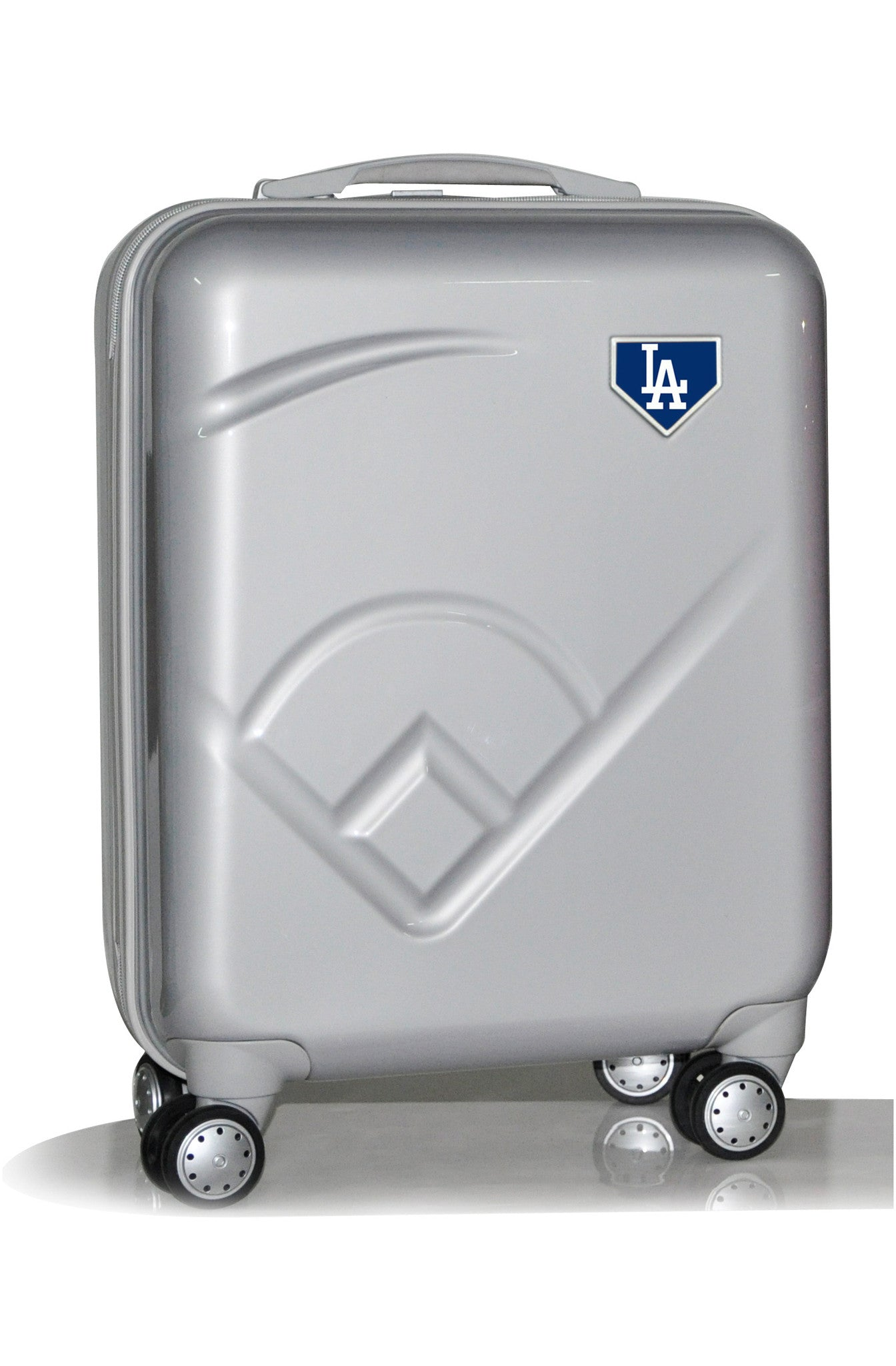 "Los Angeles Dodgers, 19"" Premium Molded Luggage by Kaybull #LAD-19PCF-IFD - OBM Distribution, Inc."