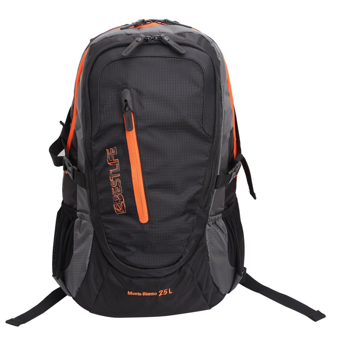 Bestlife Backpack BLB-3076-15.6'' (Black and Orange) - OBM Distribution, Inc.