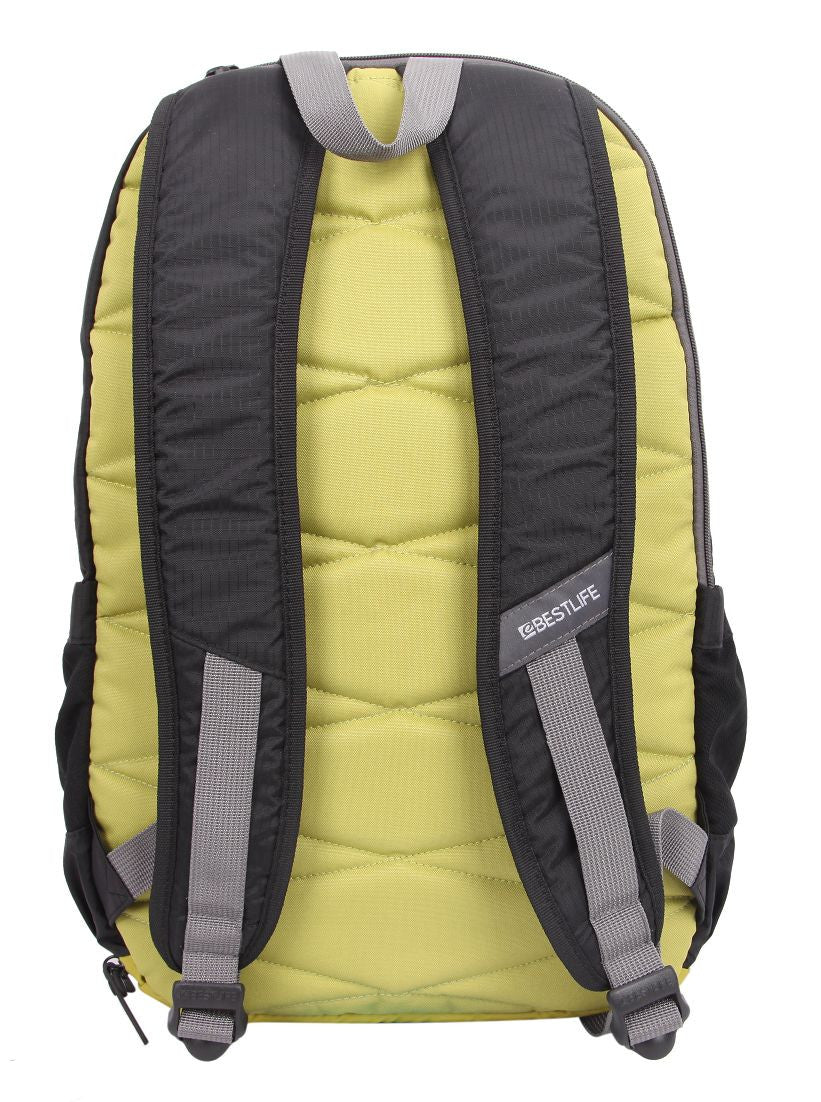 Bestlife Backpack BB-3159-15.6'' (Black and Yellow) - OBM Distribution, Inc.