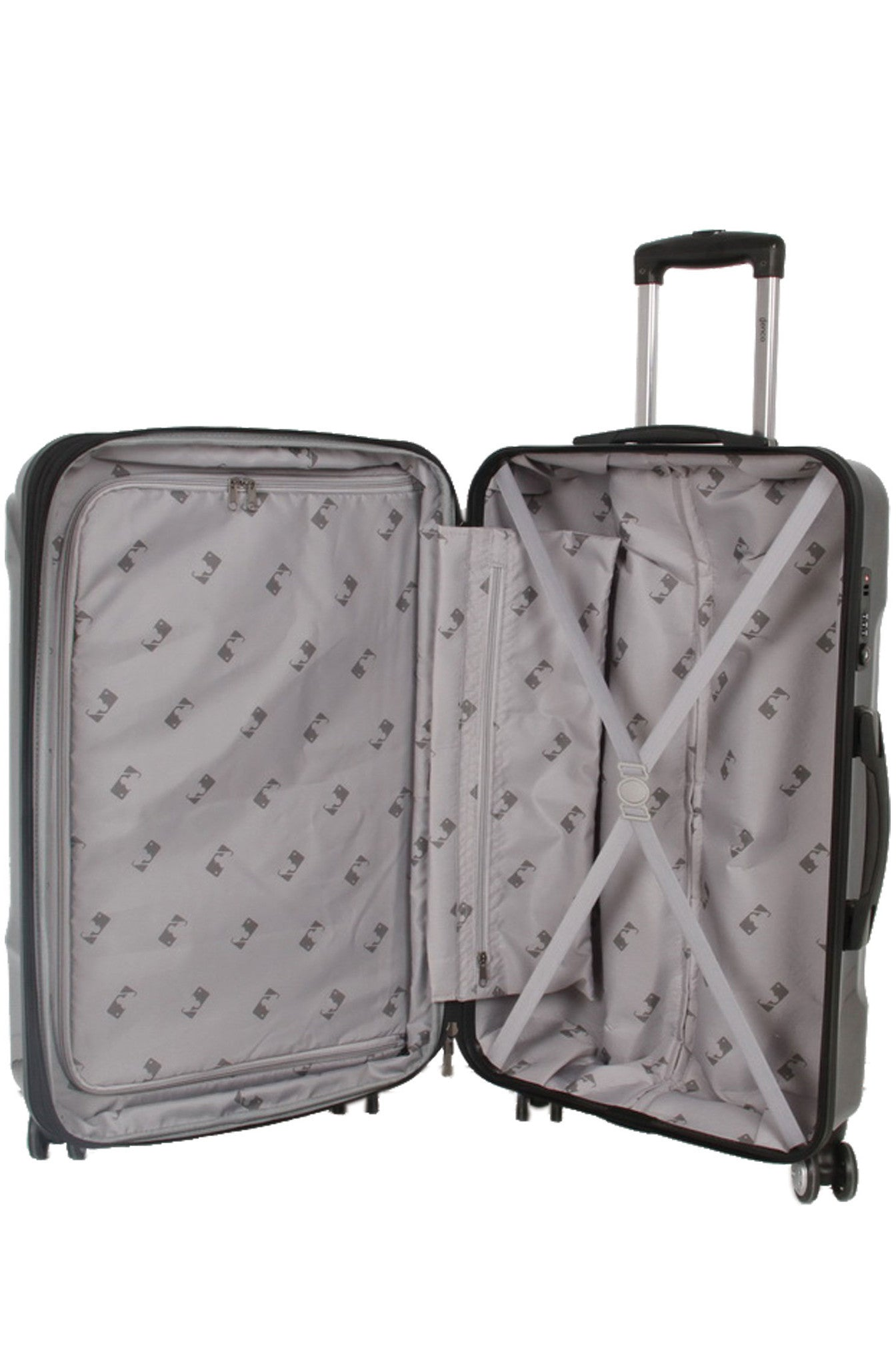 "New York Yankees, 26"" Premium Molded Luggage by Kaybull #NYY-26PCF - OBM Distribution, Inc."