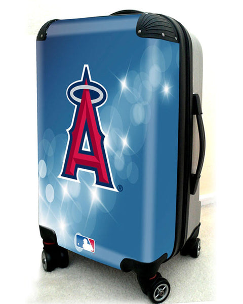 "Los Angeles Angels, 21"" Clear Poly Carry-On Luggage by Kaybull #LAA9 - OBM Distribution, Inc."
