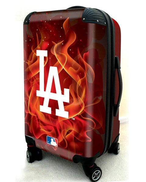 "Los Angeles Dodgers, 21"" Clear Poly Carry-On Luggage by Kaybull #LAD12 - OBM Distribution, Inc."